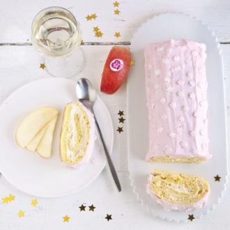 La Bûche de Noël Pink Lady®